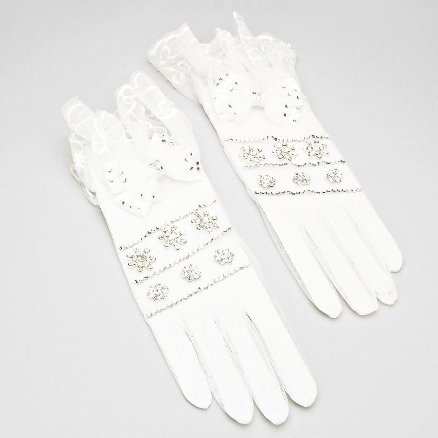 New High End Links Crystal Gloves