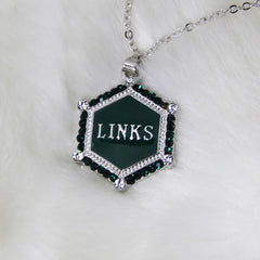 "LINKS Emerald Green ""Casual Dressy"" Daily Pendant for Necklace"