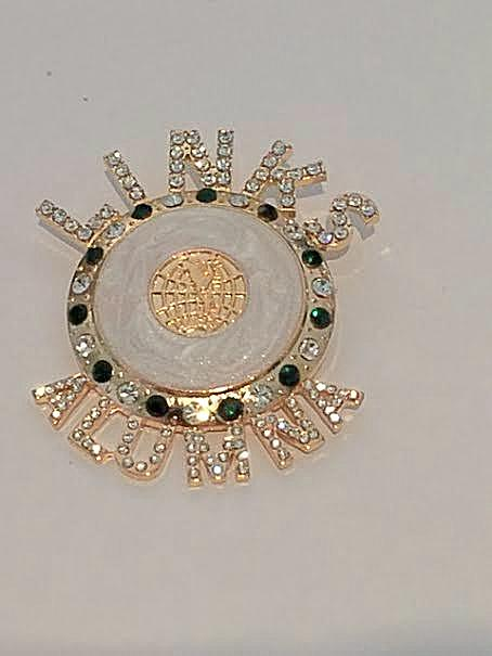 "Beautiful ALUMNA LINK Signature  ""High End"" Brooch"