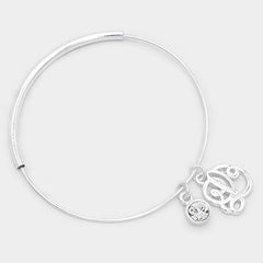 Beautiful 'L' Monogram Bracelet