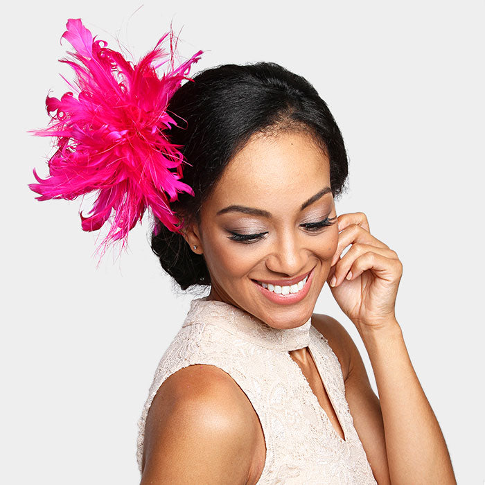 Beautiful New Feather Fascinators