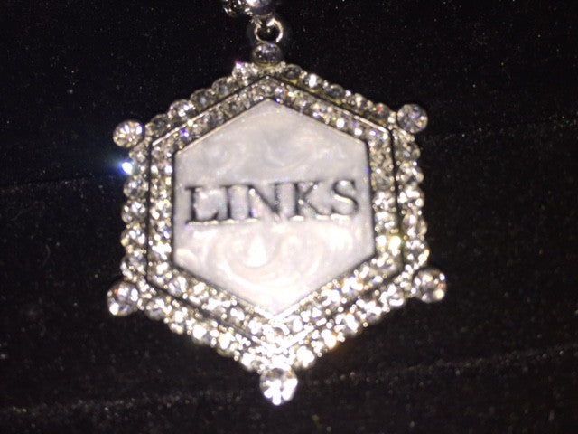 "Our LINKS ""Necklace of Excellence"" in Austrian Crystals"