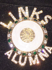 "Beautiful ALUMNA LINK Signature  ""High End"" Brooch (BACK IN STOCK)"