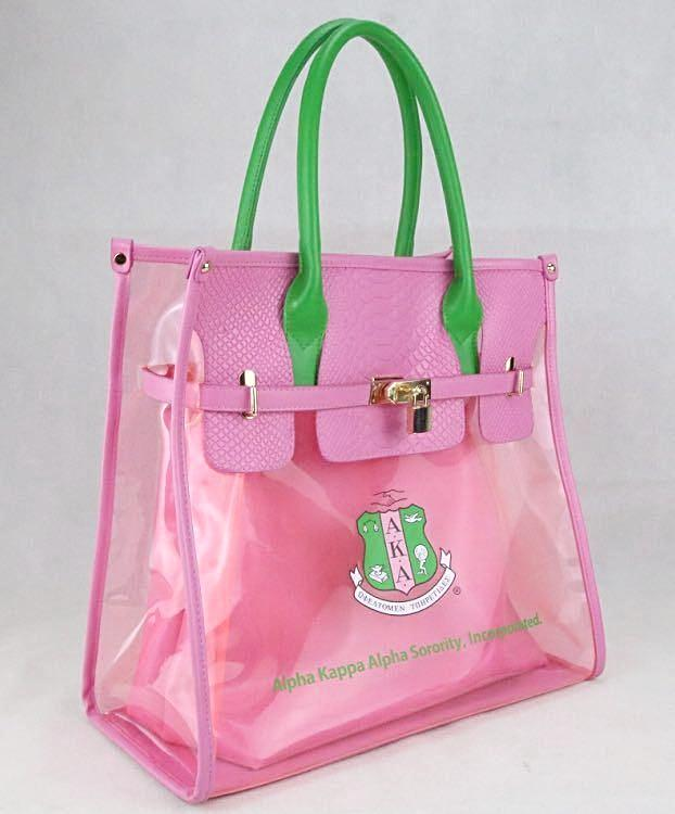 Beautiful Pink & Green Sisterly Relations Activity Bag