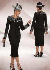 Beautiful Black Designer Knit