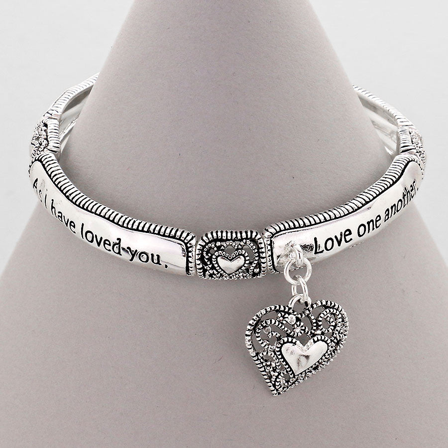 "Our New ""Love One Another"" Friendship Bracelet"
