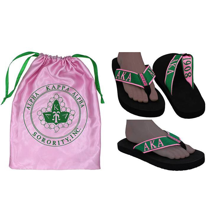 Beautiful Pink & Green Shoes & Free Bag