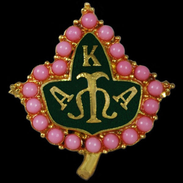 Beautiful Pink Pearls Ivy Pin