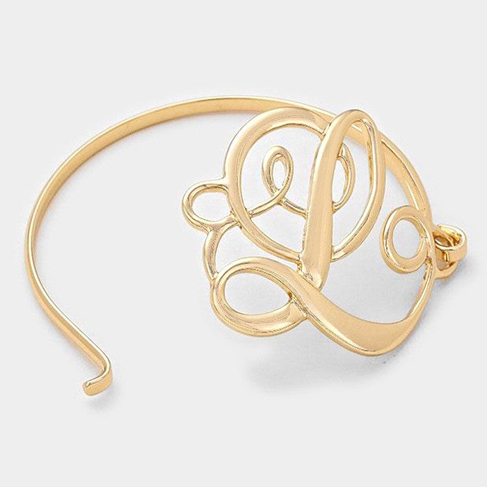 "Beautiful ""L"" Bracelet"