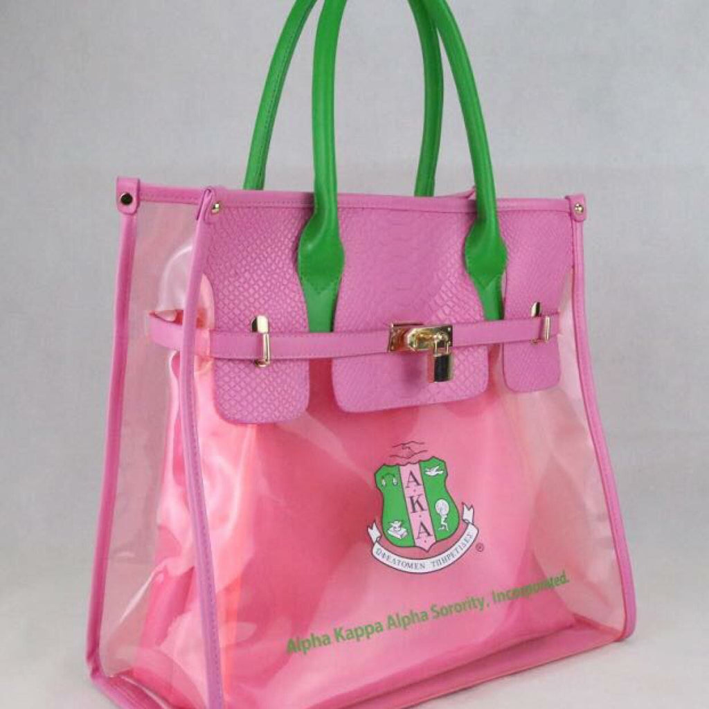 Beautiful Pink & Green Sisterly Relations Stadium Activity Bag