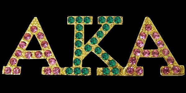 Beautiful AKA Swarovski Crystal Pins