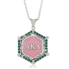 Beautiful AKA Salmon Pink Pendant