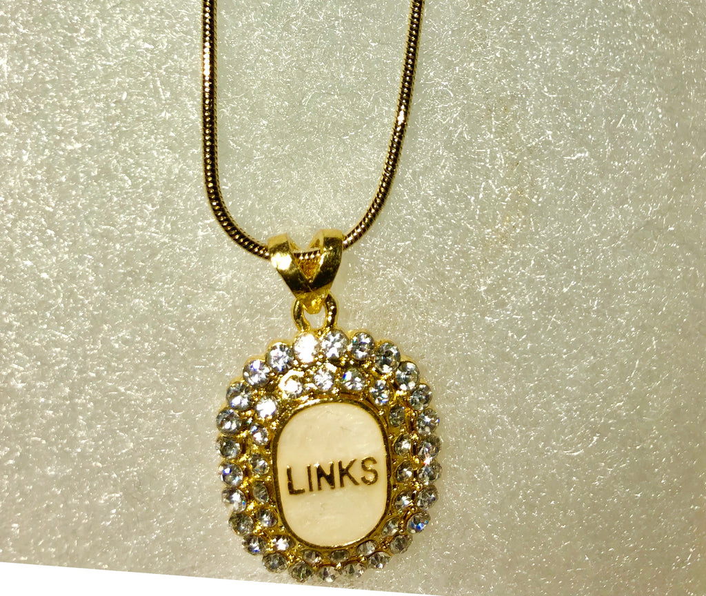"LINKS ""Amazing"" Crystal Pendant ""High End"""
