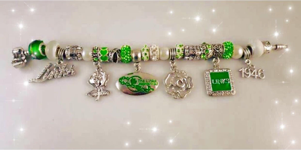 "Beautiful Things GREEKS ""High End"" Signature Friendship Bracelet (Free Charms & Beads)"