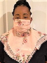 Beautiful Designer Face Scarf MASKS (New)