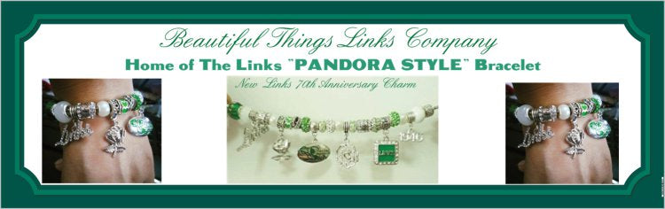 "LINKS  ""PANDORA Style"" Friendship Signature BRACELET(SOLD OUT-Pre-Order for March 15, 2021)"