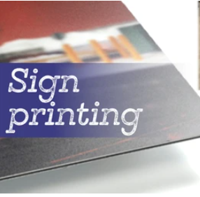 B2B Business to Business Sign Printing