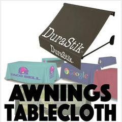 Awning Covers and Table Cloths