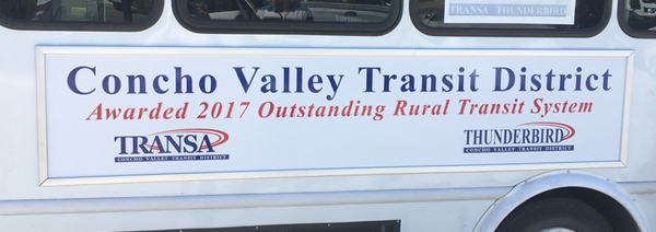 Sign frames for bus sides in any size