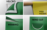 Full-Color MESH Banner, Any Size. Perfect for sponsors