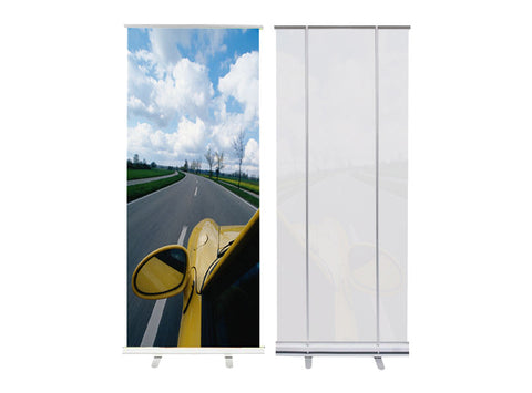 Banner Retractable and Stand 47x81""