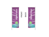 Banner Flags: Giant 23 Foot Flag Outdoor Banner Stand