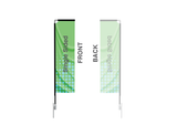 Banner Flags: Rectangle Large 15ft