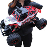 WOW RC Car Giantfoot Monster Truck Crawlers 4WD 4 Channel 2.4G Buggy (Off-road) / Rock Climbing Car / 4WD 1:12 9 km/h Water / Dirt / Shock Proof / Simulation / Parent-Child Interaction