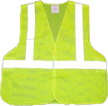 Safety Vest Class 2 with 5 point break-away