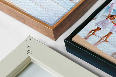 PERSONALIZE your own Framed Canvas Print
