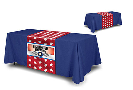 Full Color Table Runner PLUS a Color Table Cover