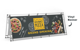 NEW 8 foot Wide horizontal sidewalk a-frame sign