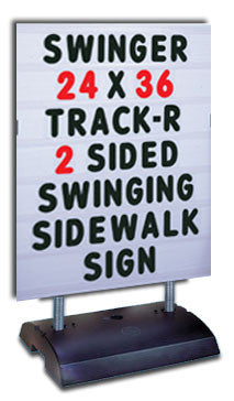 Free-Standing Spring Sign- Changeable!