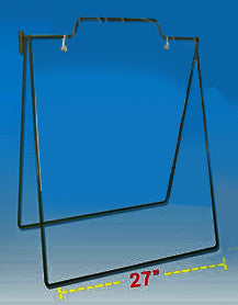 "Wire frames for sidewalk signs 5-pack for up to 24x24"" signs"
