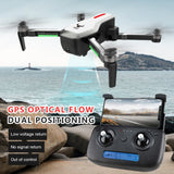 WOW GPS Brushless 4K Drone with Camera Handbag 5G Wifi FPV Foldable Optical Flow Positioning Altitude Hold RC Quadcopter Drone with 3 Battery
