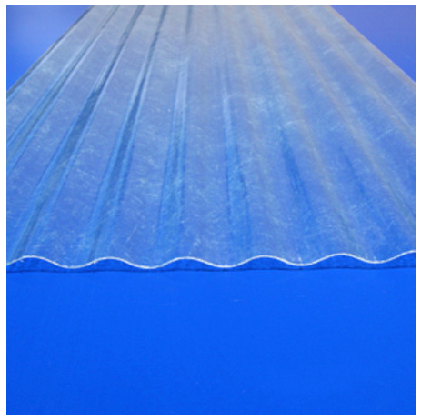 "Fiberglass Corrugated Sheets 26"" x 96"""