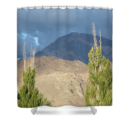 Bishop California - Shower Curtain