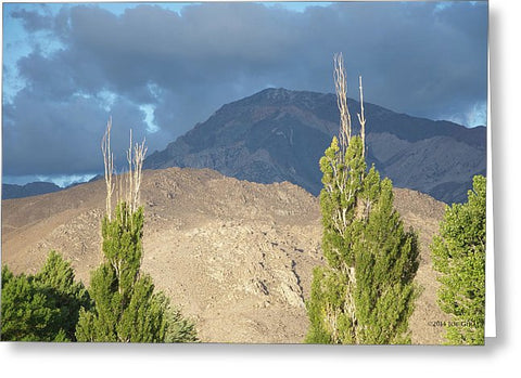 Bishop California - Greeting Card