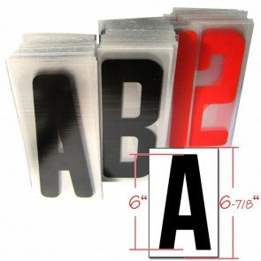 "6"" Acrylic Letter Set for Portable Lighted Advertising Signs"