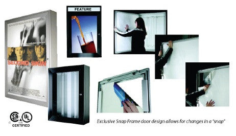 Lock-a-Graphic Outdoor Light Box