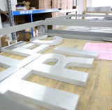 Business Sign Letters in Metal