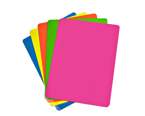 "Fluorescent Colors Magnetic Sheet 12"" x 24"""