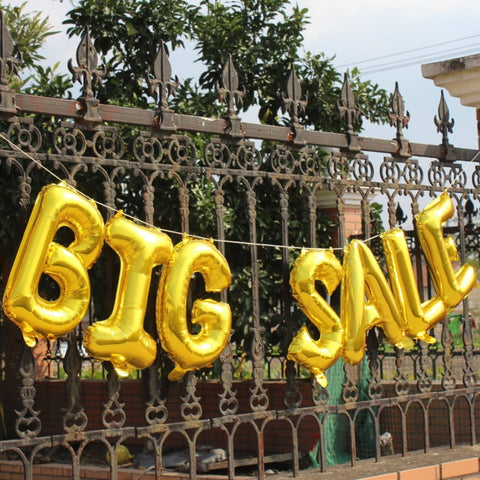 BIG SALE Advertising balloons, brilliant, Easy To Spot!