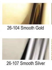 "Gold or Chrome ""mirror mylar"" 10 yard rolls"