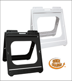 "Portable molded sign frames for 24 x 24""  signs"