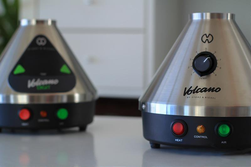 Volcano Digital Vaporizer Vs Classic - Which one comes out on top?