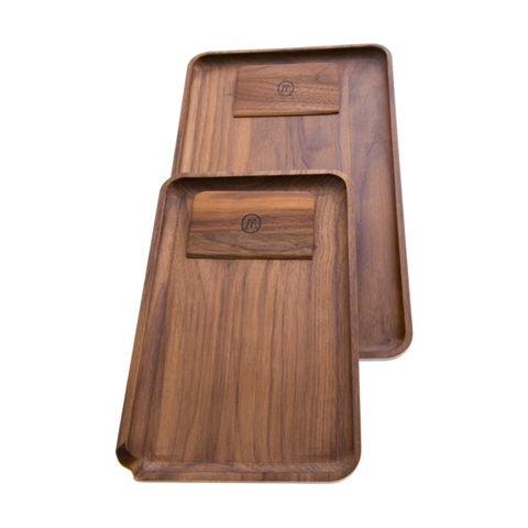 Picture of Marley Natural American Black Walnut Rolling Tray
