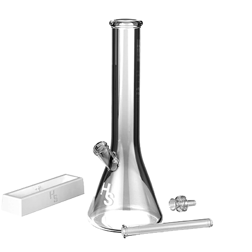 Higher Standards Heavy Duty Beaker Bong