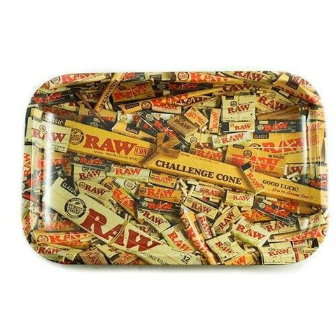 Picture of Raw Rolling Tray - Rolling Paper Design