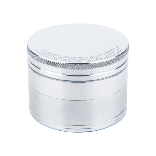 Aerospaced 4-Piece Grinders / Sifters Silver